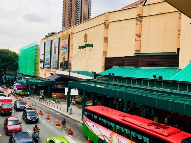 ショッピングモールSungai Wang Plaza