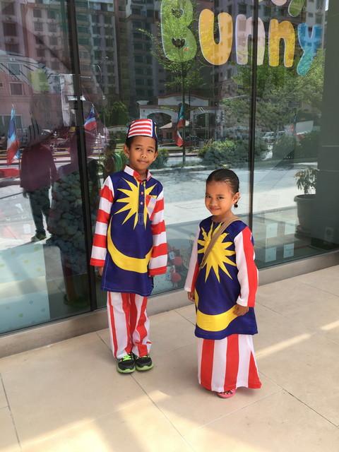 マレーシアの子供