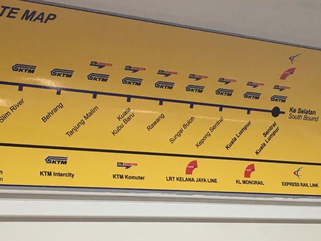 電車のルート